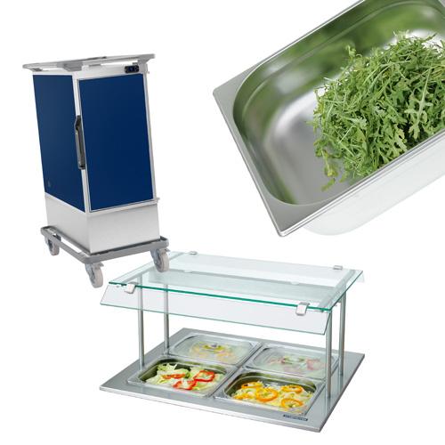 GN konteineriai, maisto transportavimo įranga. Virtuvės valdymo sistema