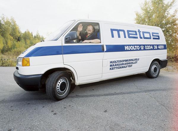 """""""Metos"""" tarnybinė transporto priemonė 1999 m"""
