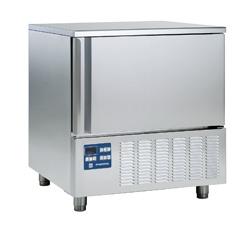 Intensyvaus atvėsinimo ir užšaldymo įranga