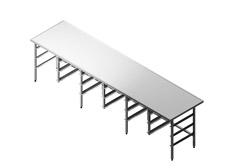 Rūšiavimo stalai ir lentynos